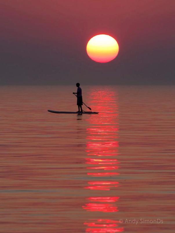 Sunset Paddleboarding Revelstoke